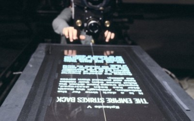 Rare behind the scenes photos from Star Wars: The Empire Strikes Back