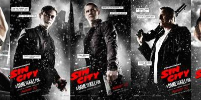 5 New Character Posters from SIN CITY