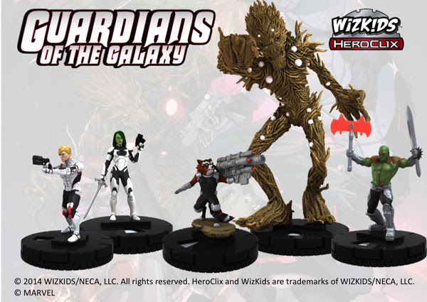 MARVEL HEROCLIX: GUARDIANS OF THE GALAXY BOOSTERS