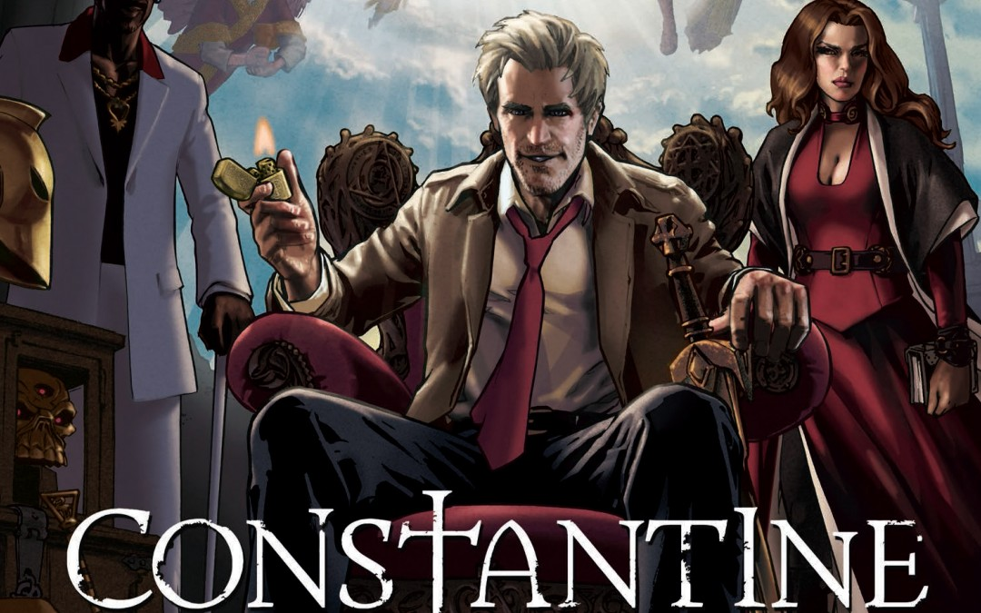 New Teaser & Awesome Comic Book-Style Poster For CONSTANTINE