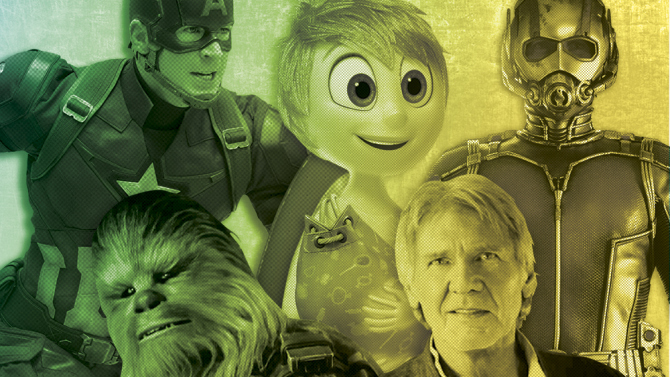 Disney Set to Dominate as it Unleashes Full Power of Pixar, Marvel and 'Star Wars'