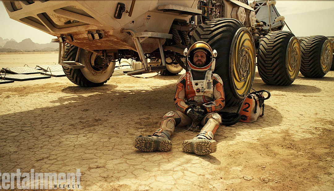First Looks at The Martian Revealed