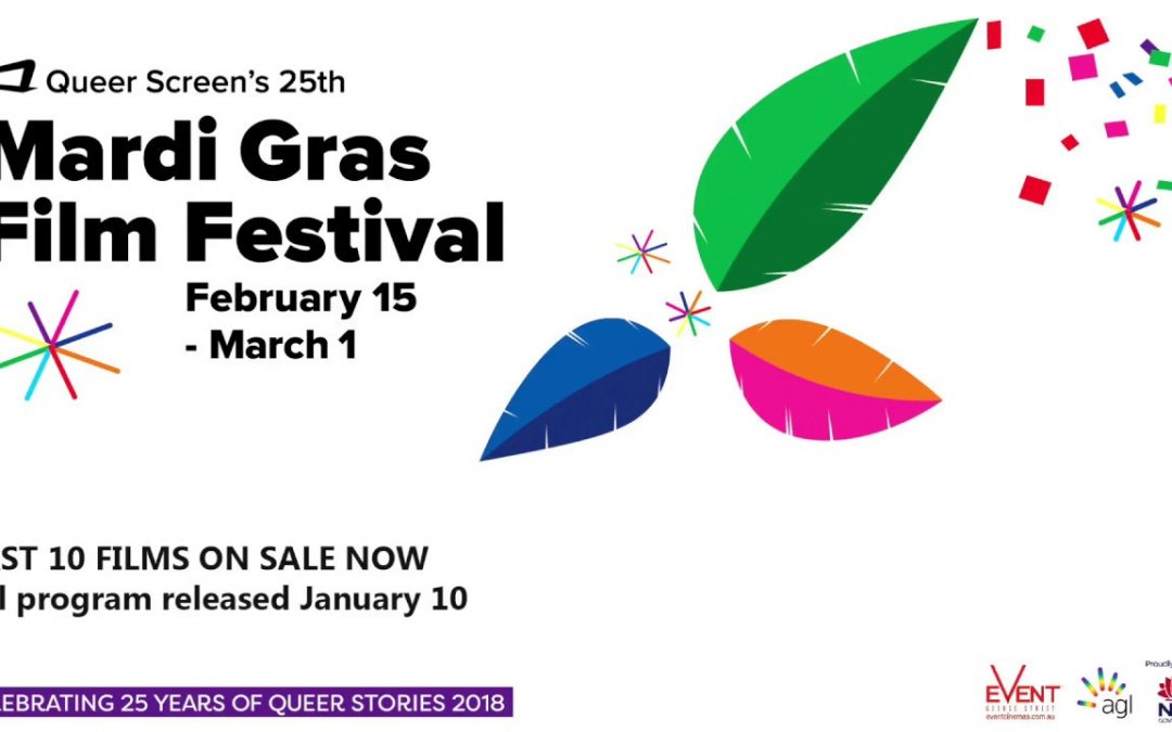 Mardi Gras Film Festival 2018 – Program is Now on Sale!