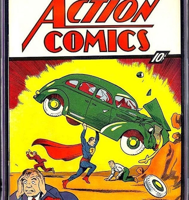 First Superman Comic Breaks $2 Million on eBay