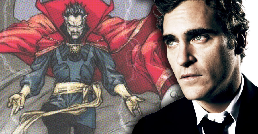 "Joaquin Phoenix Reportedly in Final Negotiations for ""Doctor Strange"""
