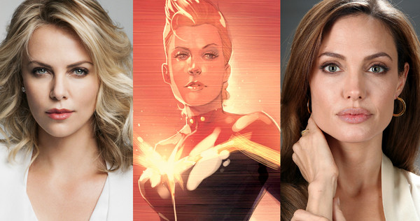 Captain Marvel – To Team Charlize Theron and Director Angelina Jolie?